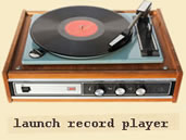 launch record player in new window